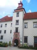 Castello di Třeboň fotografia stock libera da diritti