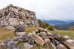 Castello di Takeda fotografia stock libera da diritti