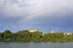 Castello di Tarascon Fotografia Stock Libera da Diritti