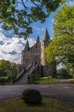 Castello di Teleborgs in Svezia Immagini Stock
