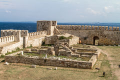 Castello di Tenedos Fotografie Stock Libere da Diritti