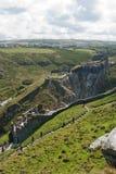 Castello di Tintagel Fotografia Stock
