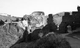 Castello di Tintagel, Cornovaglia, Inghilterra Immagine Stock Libera da Diritti