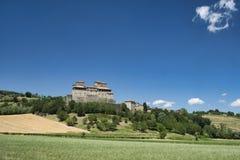 Castello di Torrechiara Parma, Italia Fotografia Stock Libera da Diritti