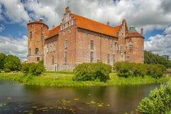 Castello di Torups in Svezia immagine stock