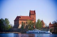 Castello di Trakai Immagini Stock Libere da Diritti