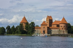 Castello di Trakai Immagine Stock Libera da Diritti