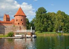 Castello di Trakai, Lituania Fotografie Stock Libere da Diritti