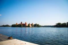 Castello di Trakai, Lituania Fotografia Stock Libera da Diritti