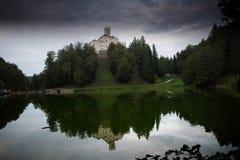 Castello di Trakoscan immagini stock