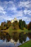 Castello di Trakoscan fotografia stock