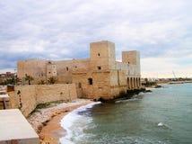 Castello di Trani Immagine Stock Libera da Diritti