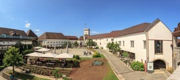 Castello di Transferrina - laureato di Ljubljanski La Slovenia, Europa immagini stock