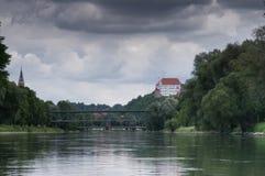 Castello di Trausnitz Fotografia Stock Libera da Diritti