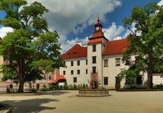 Castello di Trebon in repubblica Ceca Fotografie Stock Libere da Diritti