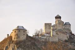 Castello di Trencin immagini stock