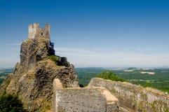 Castello di Trosky Immagine Stock Libera da Diritti