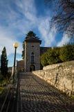 Castello di Trsat Immagine Stock
