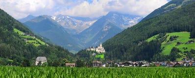 Castello Di Tures Riva di Tures Val Pusteria Alto Adige, Bolzano, Italië Stock Foto's