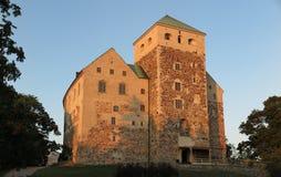 Castello di Turku Fotografia Stock Libera da Diritti