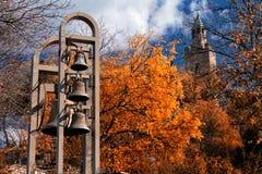 Castello di Tzarevetz, Veliko Tarnovo, Bulgaria Immagini Stock Libere da Diritti