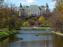 Castello di Ujazdowski fotografie stock