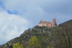 Castello di Ulrich del san Fotografia Stock