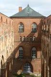Castello di una città di Tartu, Estonia immagini stock