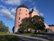 Castello di Upsala Fotografia Stock Libera da Diritti