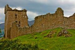 Castello di Urquhart immagini stock libere da diritti