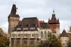 Castello di Vadjahunyad a Budapest fotografia stock libera da diritti