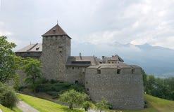 Castello di Vaduz Immagini Stock Libere da Diritti