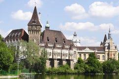 Castello di Vajdahunyad Immagini Stock