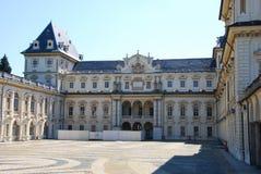 Castello di Valentino, Torino Immagini Stock Libere da Diritti