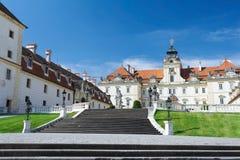 Castello di Valtice Fotografia Stock Libera da Diritti