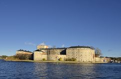 Castello di Vaxholm Immagini Stock Libere da Diritti