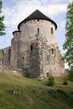 Castello di Vedensky della torre Fotografia Stock
