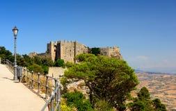 Castello di Venere, Erice Imagen de archivo