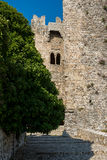 Castello di Venere in Erice. Sicily, Italy. Royalty Free Stock Photos