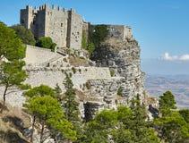 Castello di Venere, Sicilia, Italia Fotografia Stock Libera da Diritti