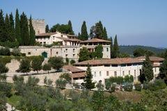 Castello di Verrazzano fotos de archivo libres de regalías