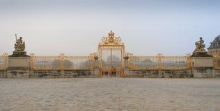 Castello di Versailles france 14 gennaio 2014 Fotografia Stock Libera da Diritti