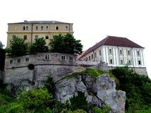 Castello di Veszprem Fotografie Stock Libere da Diritti