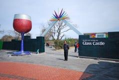 Castello di vetro di Jeju Fotografia Stock Libera da Diritti