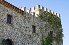 Castello di Viggianello La Basilicata L'Italia Immagini Stock Libere da Diritti