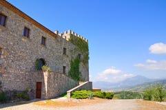 Castello di Viggianello La Basilicata L'Italia Fotografia Stock Libera da Diritti