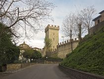 Castello di Vigoleno Stock Photography