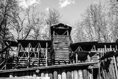 Castello di Viking Fotografia Stock