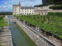 Castello di Villandry fotografia stock