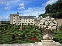 Castello di Villandry fotografie stock